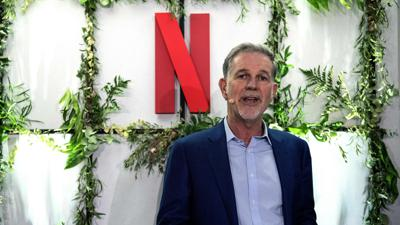 Cover art for Reed Hastings on his vision for Netflix
