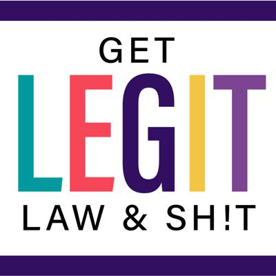The Get Legit Law & Shit podcast is a fresh take on law and business. Talking shit on the legal news you want to know about and how it relates to you and your business. Of course, it wouldn't be an Emily D. Baker product if there weren't some stories from her 10 plus years as a Deputy District Attorney and from the trenches helping clients navigate the wild world of online business. So if you are curious about what is going on and want to have a laugh you are in the right place!   If you want to connect with Emily she basically lives on Instagram @TheEmilyDBaker  www.instagram.com/emilydbaker.  If you need help with your business you can find Emily's products at www.GetLegitShop.com and her legal consulting at www.EmilyDBaker.com