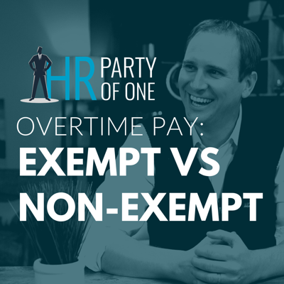 Cover art for Overtime Pay: Exempt vs. Non-Exempt