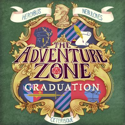 "Cover art for The Adventure Zone: Graduation Ep. 5 ""What's Yours is Mined"""