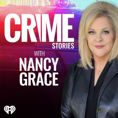 Nancy Grace dives deep into the day's most shocking crimes and asks the tough questions in her new daily podcast – Crime Stories with Nancy Grace. Nancy Grace had a perfect conviction record during her decade as a prosecutor and used her TV show to find missing people, fugitives on the run and unseen clues. Now, she will use the power of her huge social media following and the immediacy of the internet to deliver daily bombshells!