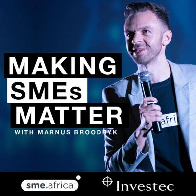 Intimate conversations between top South African entrepreneurs to help you build a better business. Proudly brought to you by sme.africa and Investec Business Cash Solutions.