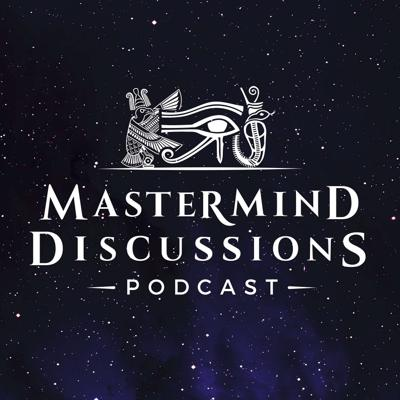 Cover art for Mastermind Discussions #3 –Forbidden Texts, Origins, and the Nature of Reality- Matthew LaCroix and David Easter
