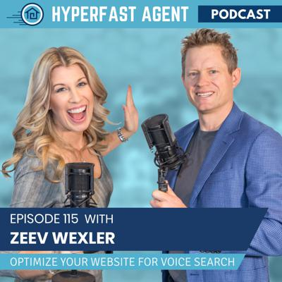 Cover art for Episode #115 Optimize Your Website for Voice Search with Zeev Wexler
