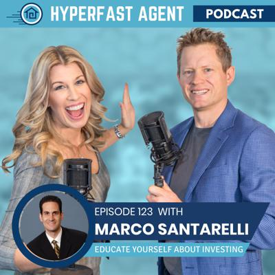 Cover art for Episode #123 Educate Yourself About Real Estate Investing with Marco Santarelli