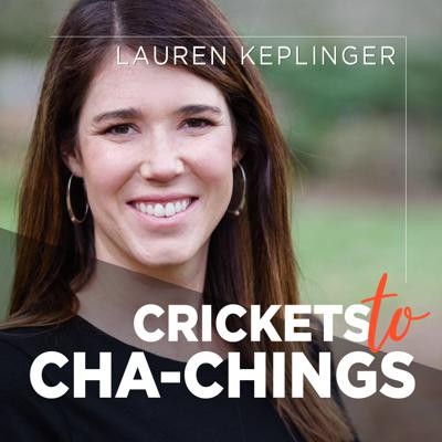 Crickets to Cha-chings is a podcast for handmade entrepreneurs wanting to uplevel their Etsy shops and take their side gig to a full time income. Join us as we talk marketing for your handmade business, strategy to drive traffic to your shop, how to stand out on Etsy, and running an online business while maintaining flexibility for your family.